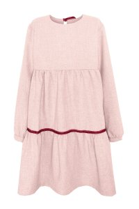 ROSIE dress for girl, three layer - available in 2 colours